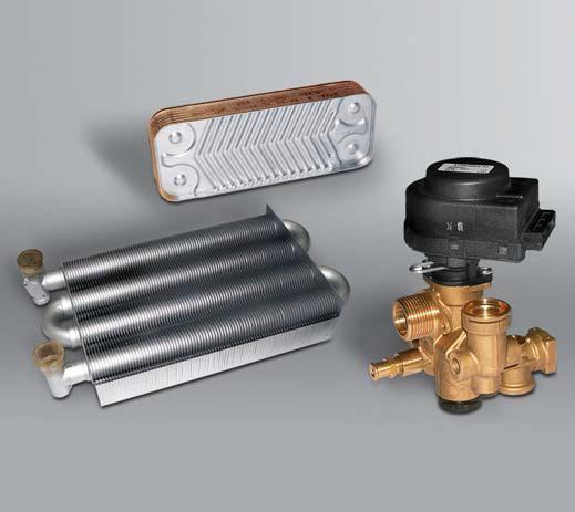 2 теплообменника в газовом котле производители кожухотрубных теплообменников малой производительности